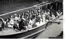 Hafenrundfahrt Barkasse ca. 1961 (Pap231)