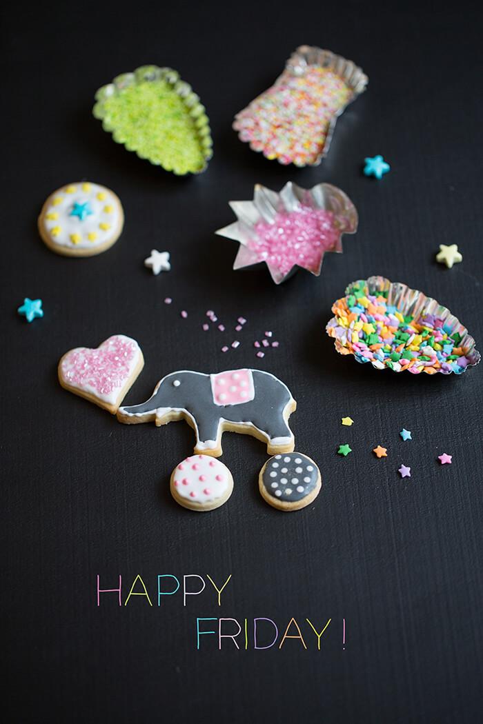 Happy Friday Cookie