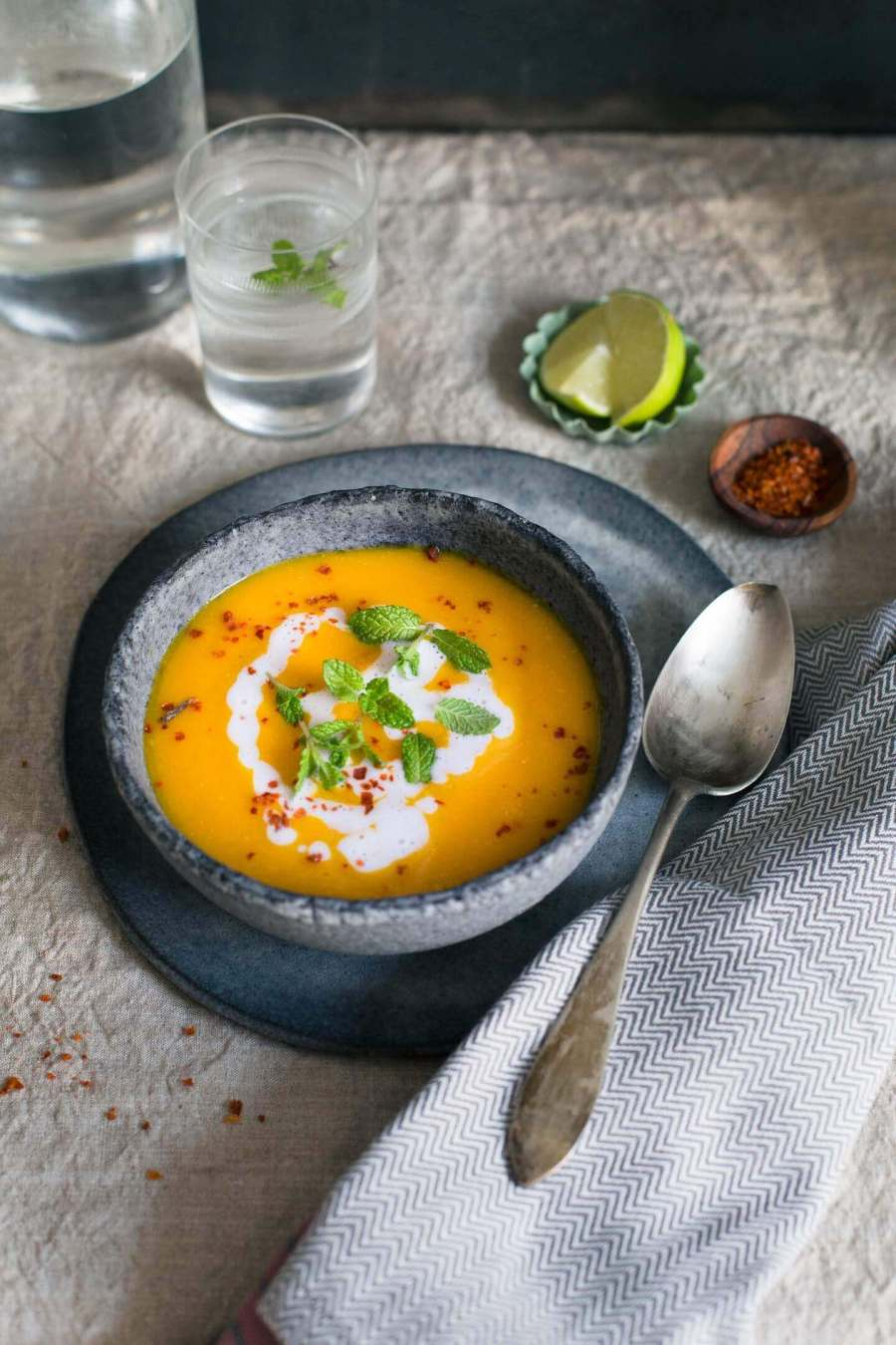 Sweet Potato-Carrot-Soup