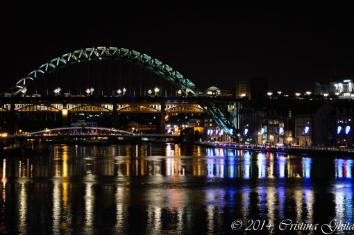 View over the Tyne river, Newcastle