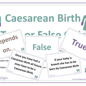 Caesarean Birth True or False