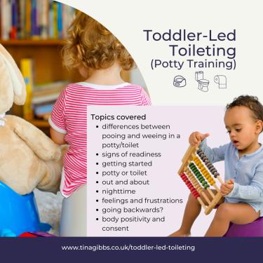 Toddler-Led Toileting (Potty Training)