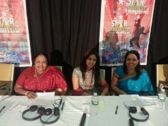 Tina Kundalia judging Star Singer USA Junior for Jai Hind TV