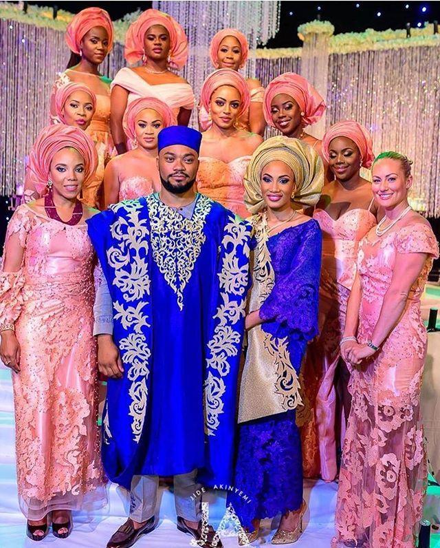 Yoruba traditional wedding pictures