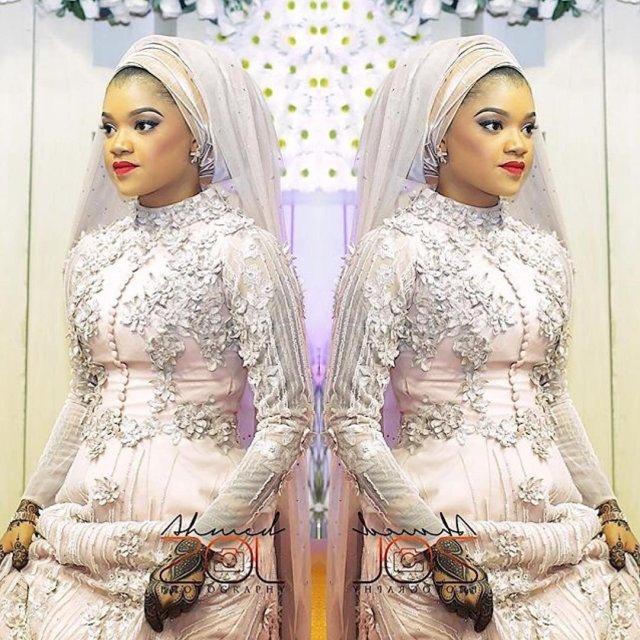 Hausa traditional wedding dresses