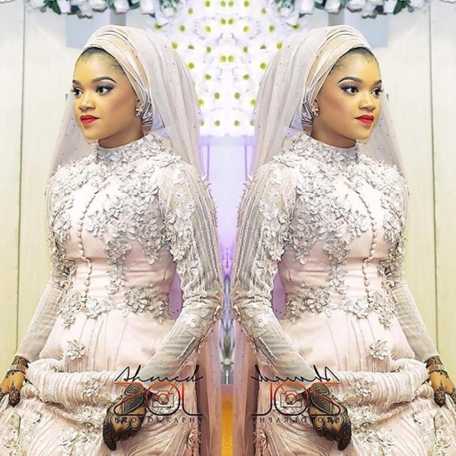 Hausa traditional wedding dresses