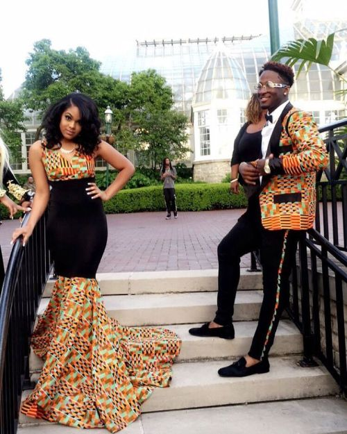 African dress styles men 2018