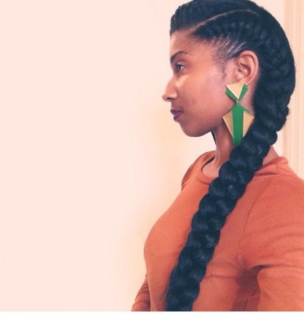 French twist pics African