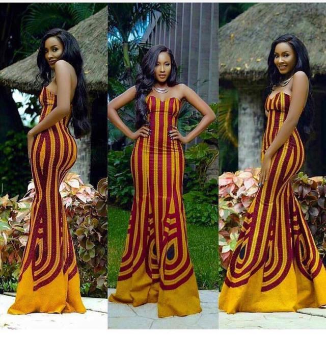 Modern African dress styles