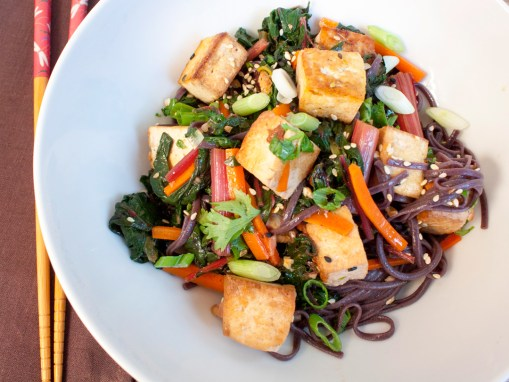 Tofu Stir-Fry with Vegetables