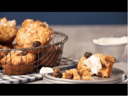 Gluten-Free Superberry Oat Muffins Recipe