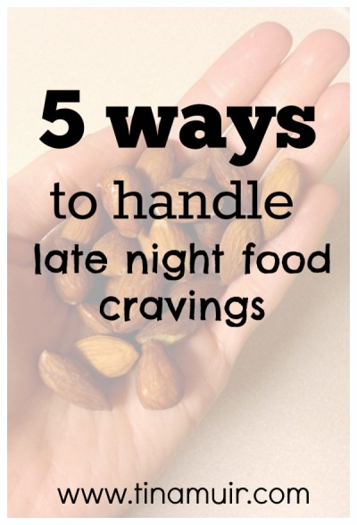 5 Ways to STOP Late Night Overeating