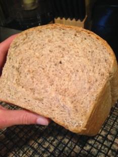 How to make homemade whole wheat bread like elite runner Tina Muir