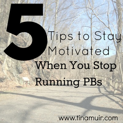 5 Tips for Staying Motivated When You Stop Running PBs