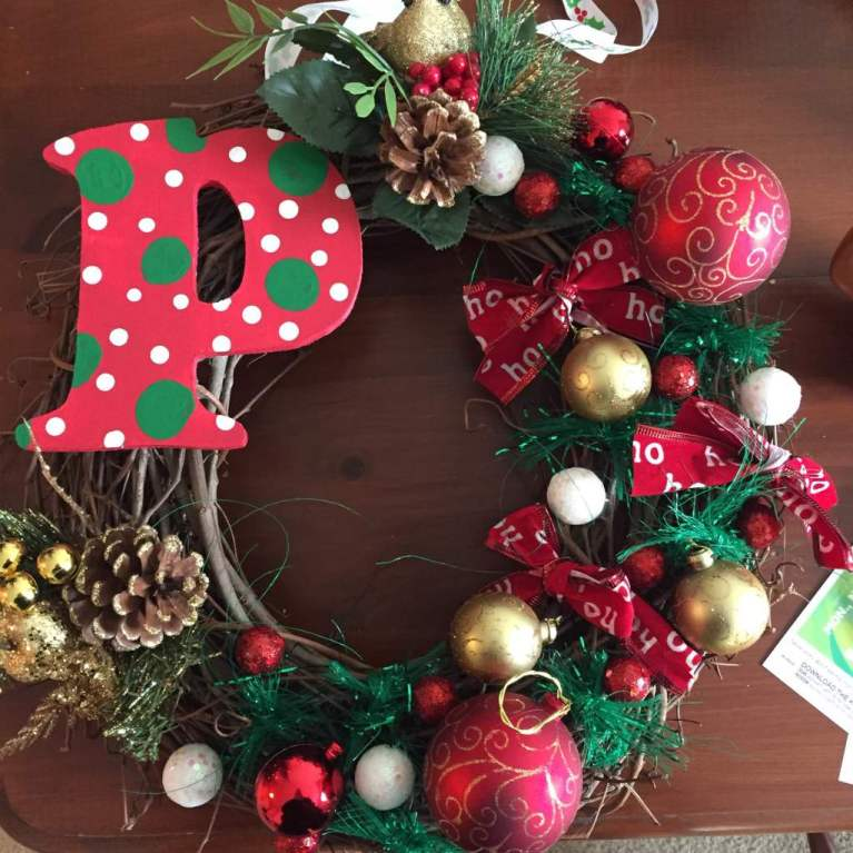 Holiday DIY Wreath by Tina Muir