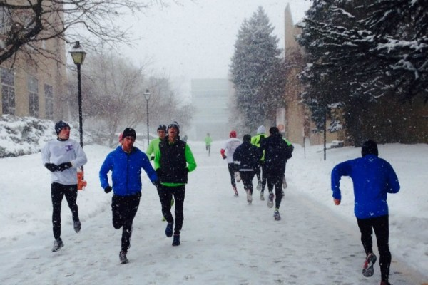 Elite runner Tina Muir shares another secret of success- how to run in the snow