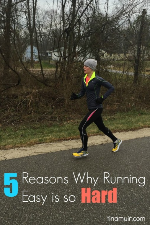 Elite Runner Tina Muir talks about why we find it so hard to run easy, and what we can do to make sure we recover fully to race to our potential, when it really matters.