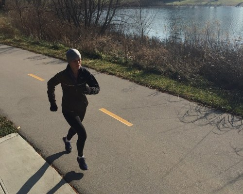 """Elite runner Tina Muir talks about how """"doing the best you can"""" does not always mean going hard. Sometimes going easy is what your body needs, and this post explains how to run easy."""