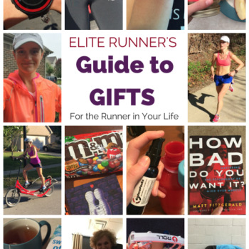 Elite Runner Tina Muir shares the running products she recommends for the runner in your life. This is helpful, and has all the price ranges to make it nice and easy! I want it ALL!