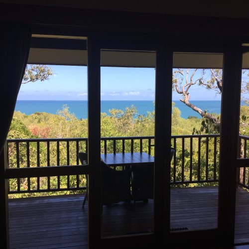 Thalia Beach Bungalow View