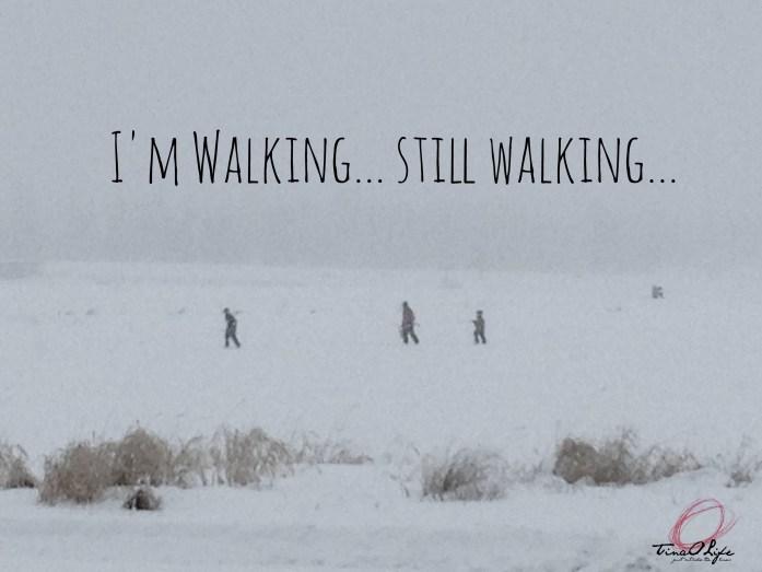 I'm walking