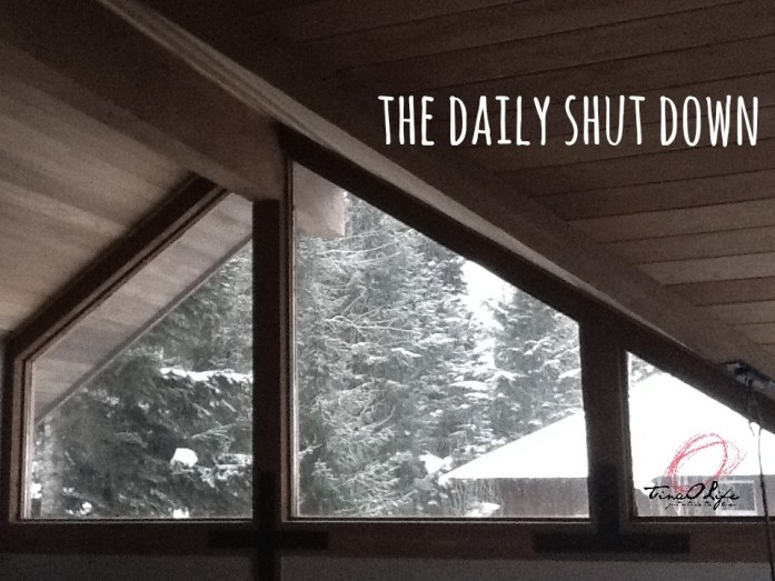The Daily Shut Down