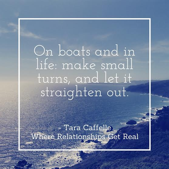 Tara Caffelle keep that boat