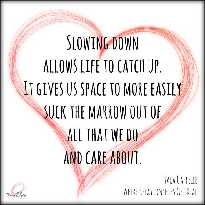 Tara Heart Slowing Down