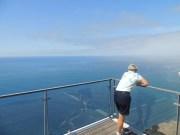 A spectacular view from Europe's second highest sea cliff (580 meter sheer cliffs). As I (Peter) suffer from vertigo I kept a safe distance.