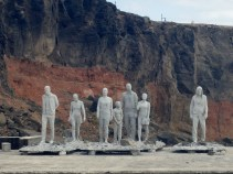 Jason deCAIRES Taylor sculpture in progress