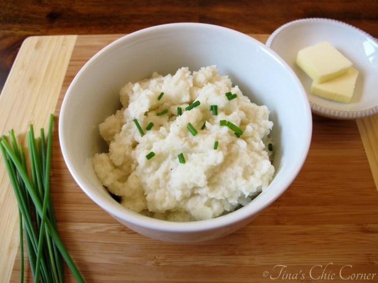 4Mashed Cauliflower