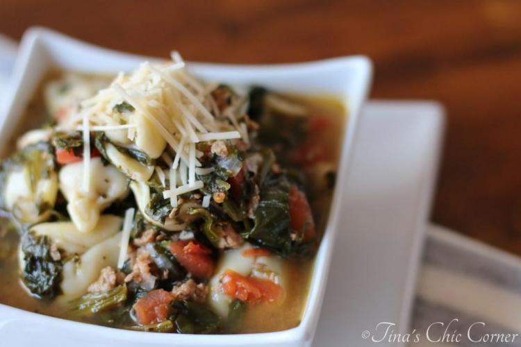05Rustic Italian Tortellini Soup