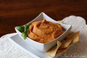 03Roasted Red Pepper Hummus