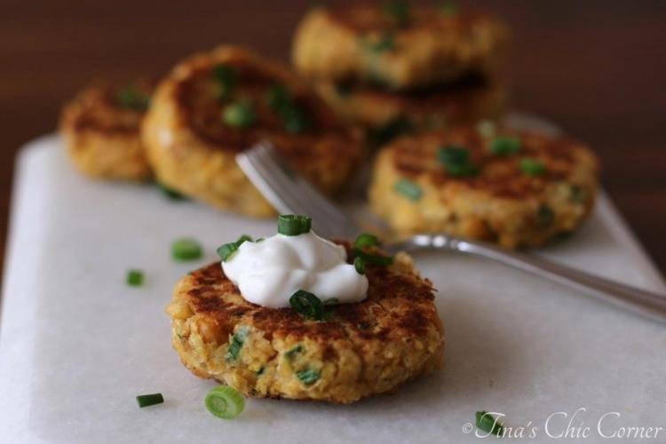 08Chickpea Cakes
