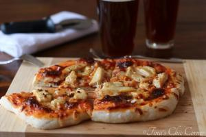 09Garlic Chicken Pizza