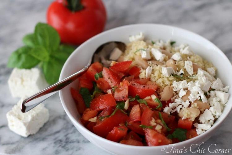 05White Beans Couscous Tomato Salad