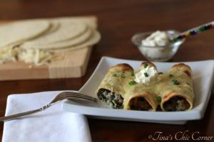 11 2 Turkey and Spinach Taquitos