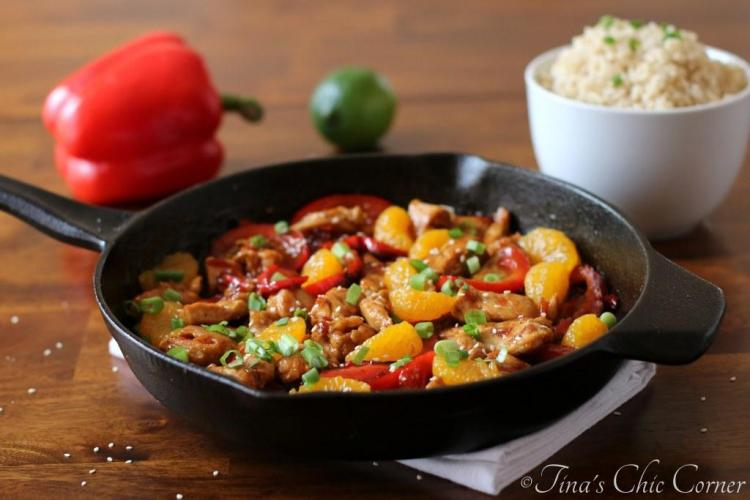 03Thai Sweet Chili Chicken and Mandarin Oranges