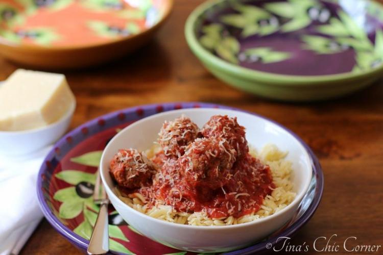 03Meatballs Baked In Tomato Sauce