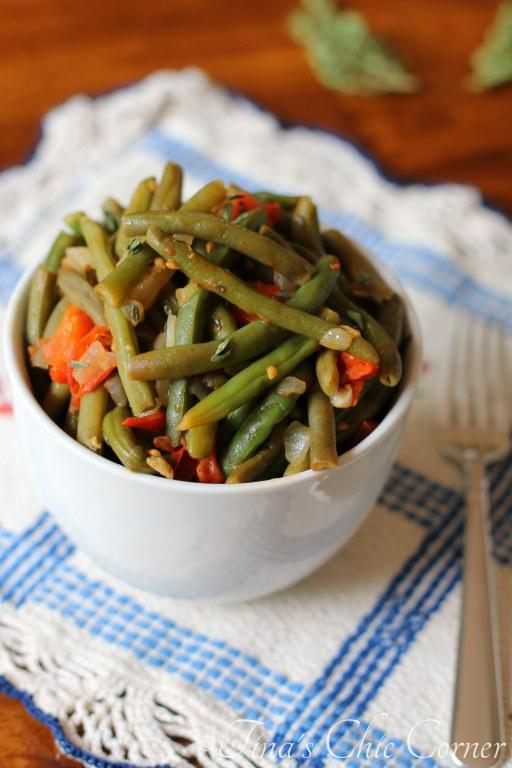08Green Beans With Tomatoes