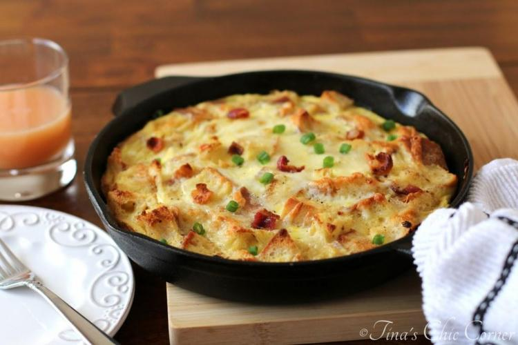 04Bacon, Egg, And Cheese Skillet Strata