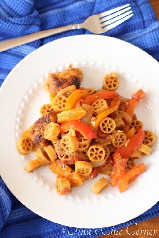 Chicken Fajita Pasta05