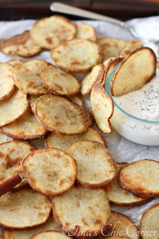 Indian Spiced Potato Chips11