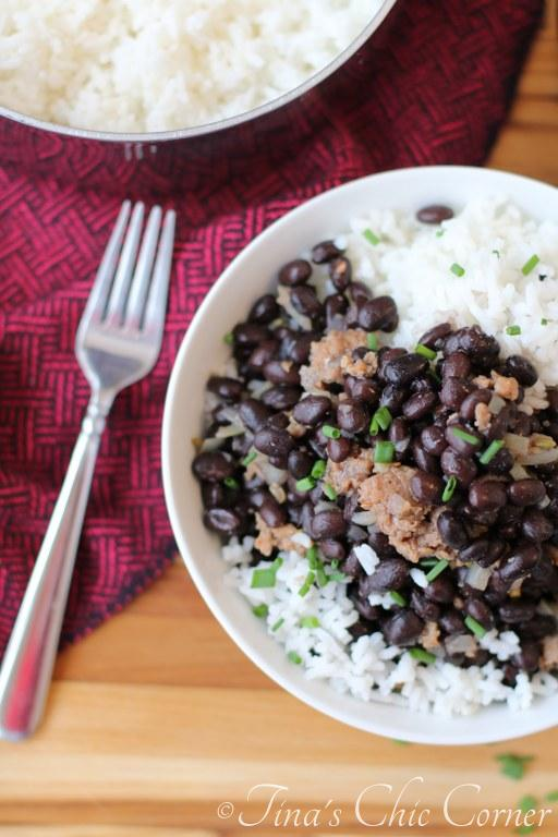 Black Beans Sausage Rice03