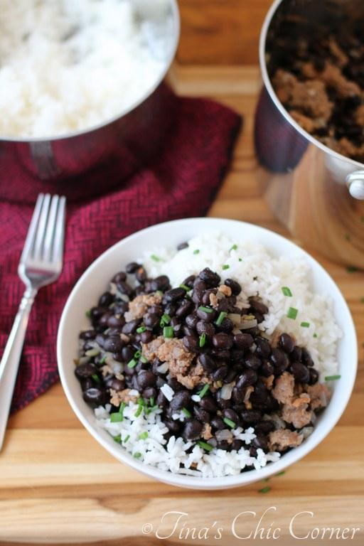 Black Beans Sausage Rice04