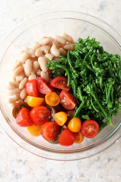 Tomatoes, White Beans and Broccolini01