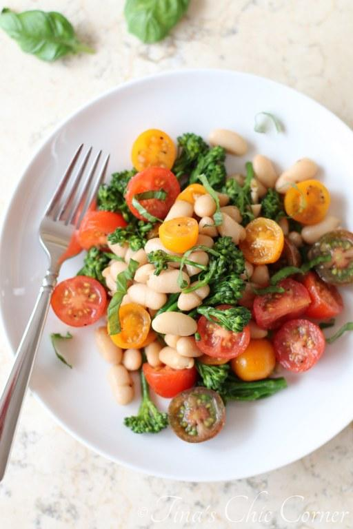 Tomatoes, White Beans and Broccolini02