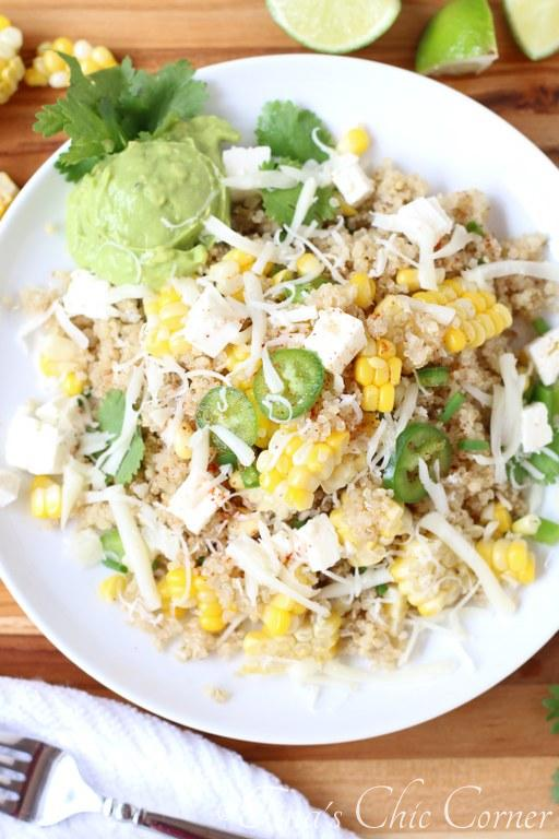 Mexican Corn and Quiona Salad04