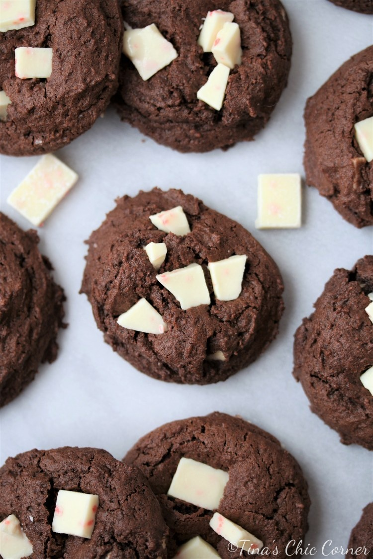 Peppermint Chip Chocolate Cookies Tina S Chic Corner