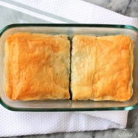 Spinach Pie (Spanakopita) for Two
